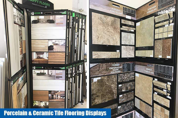 Porcelain & Ceramic Tile Flooring Display in North Fort Myers FL