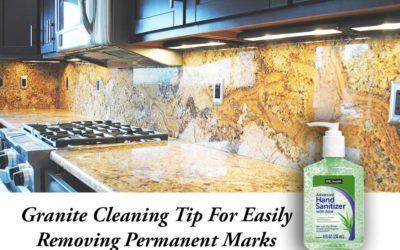 Granite Cleaning Tip