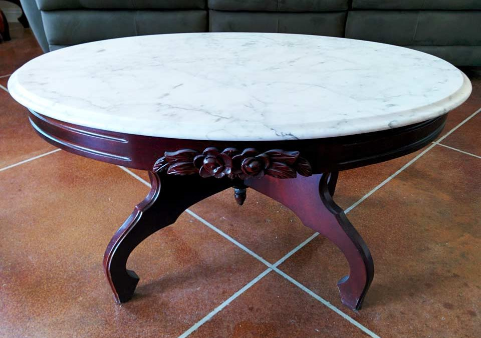 Top It With A Remnant – Granite End & Coffee Tables